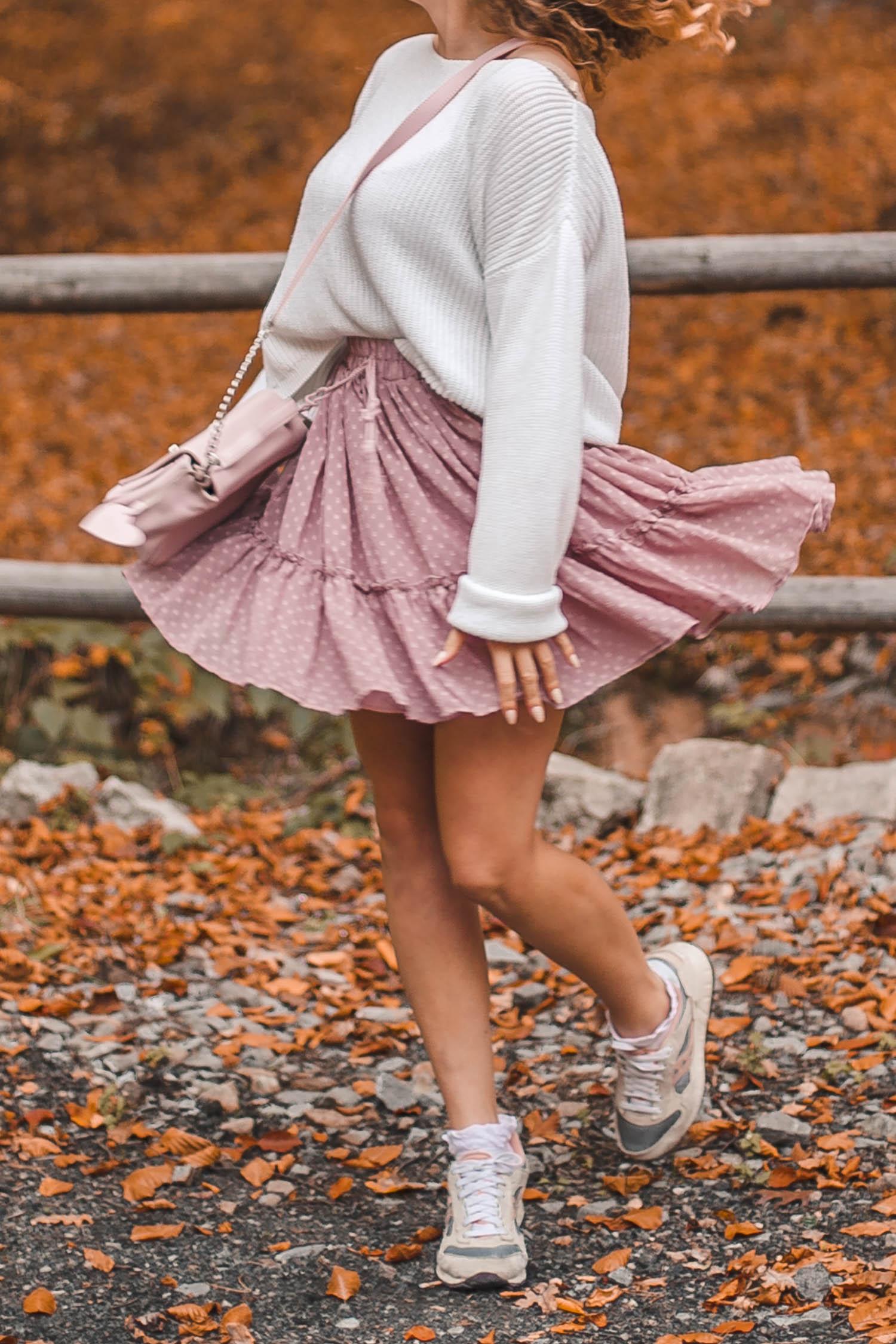 spódnica różowa aliexpress