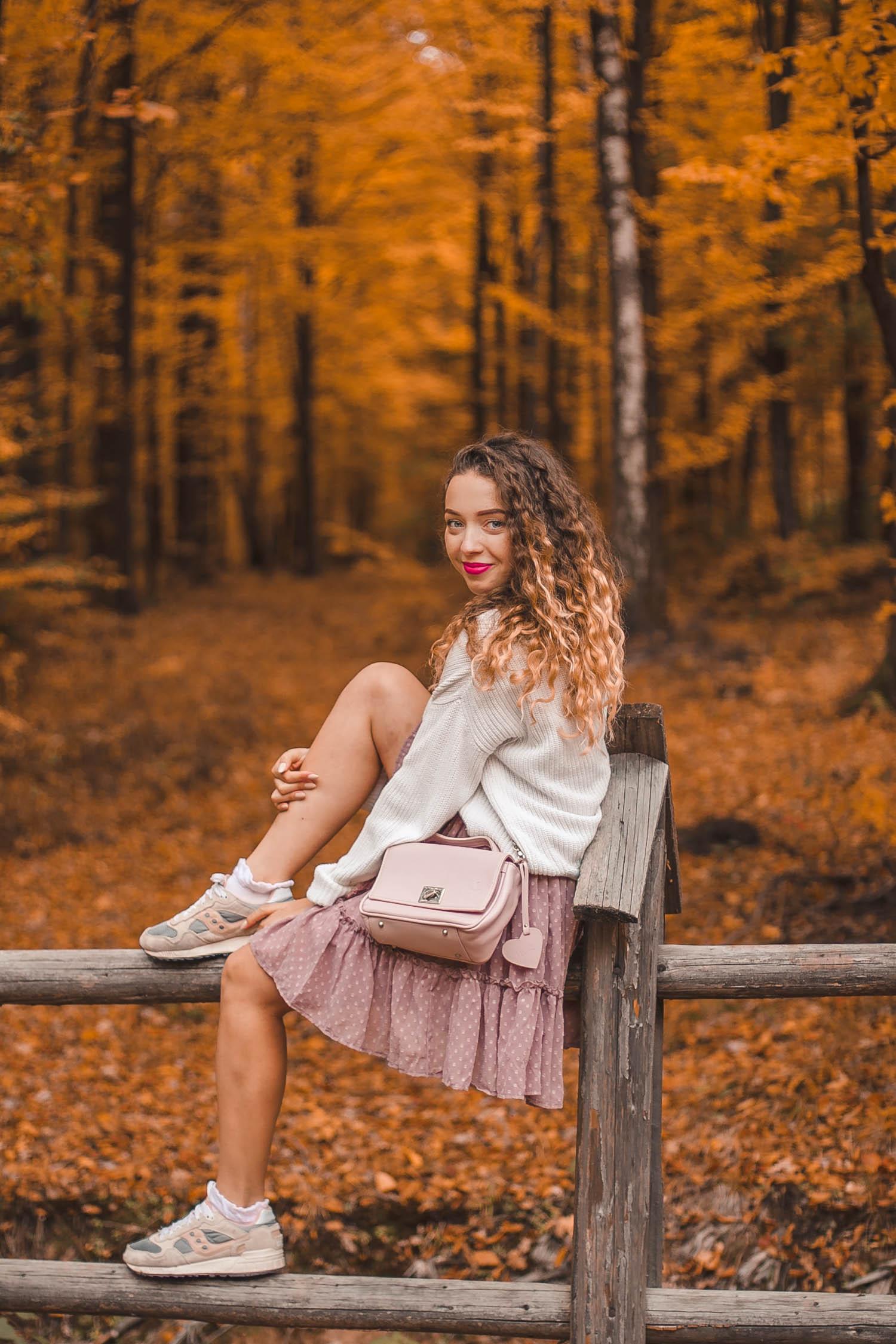 złota jesień stylizacja