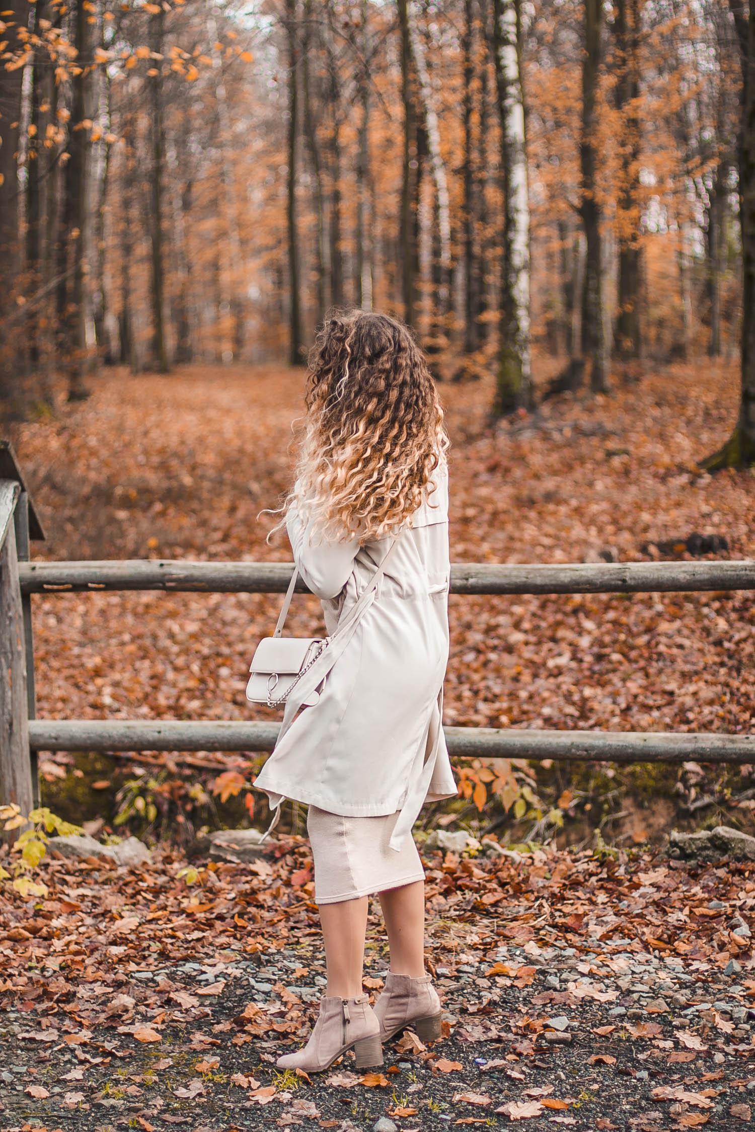 stylizacja beżowa na jesień