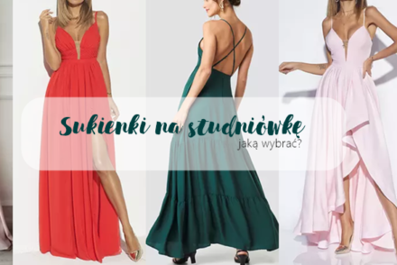 sukienki na studniówkę propozycje 2019 2020