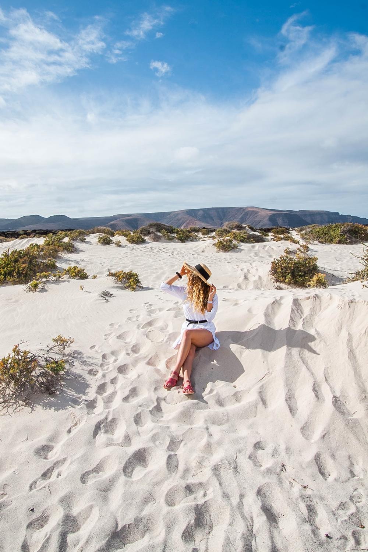 biała plaża na lanzarote atrakcje