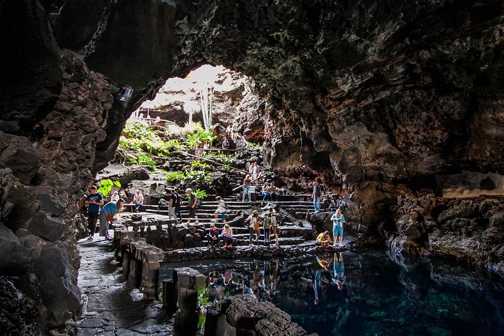 jaskinia na lanzarote
