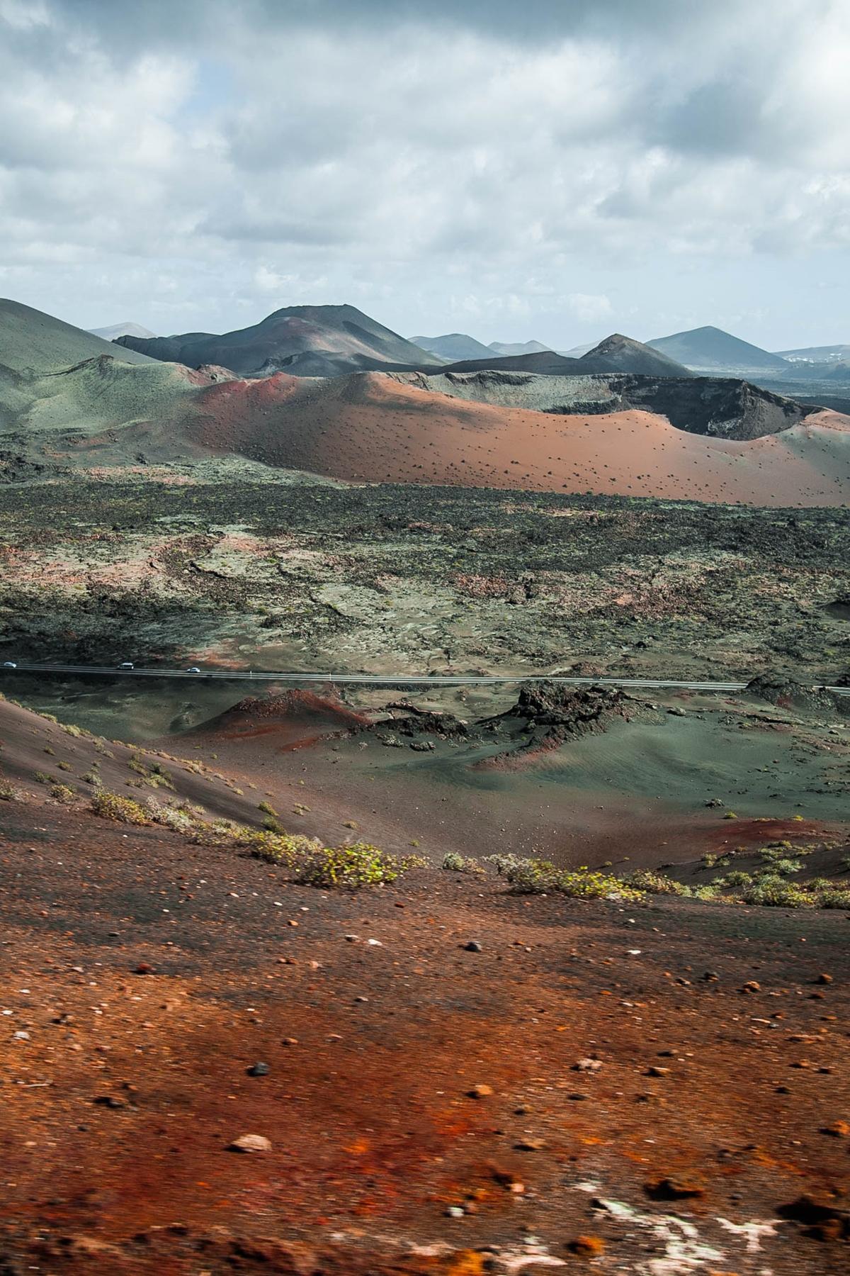 krater wulkanu Park Narodowy Timanfaya
