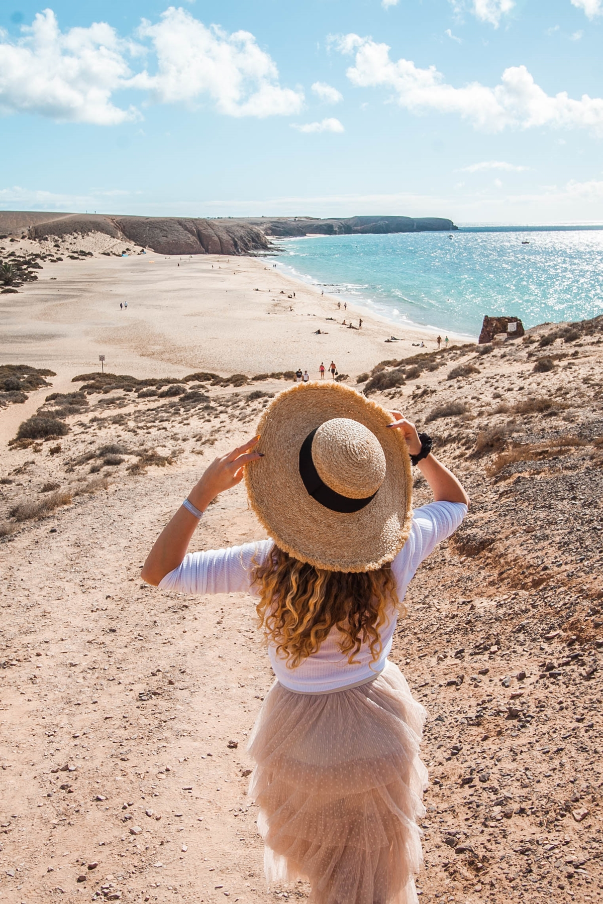 plaża lanzarote playa blanca