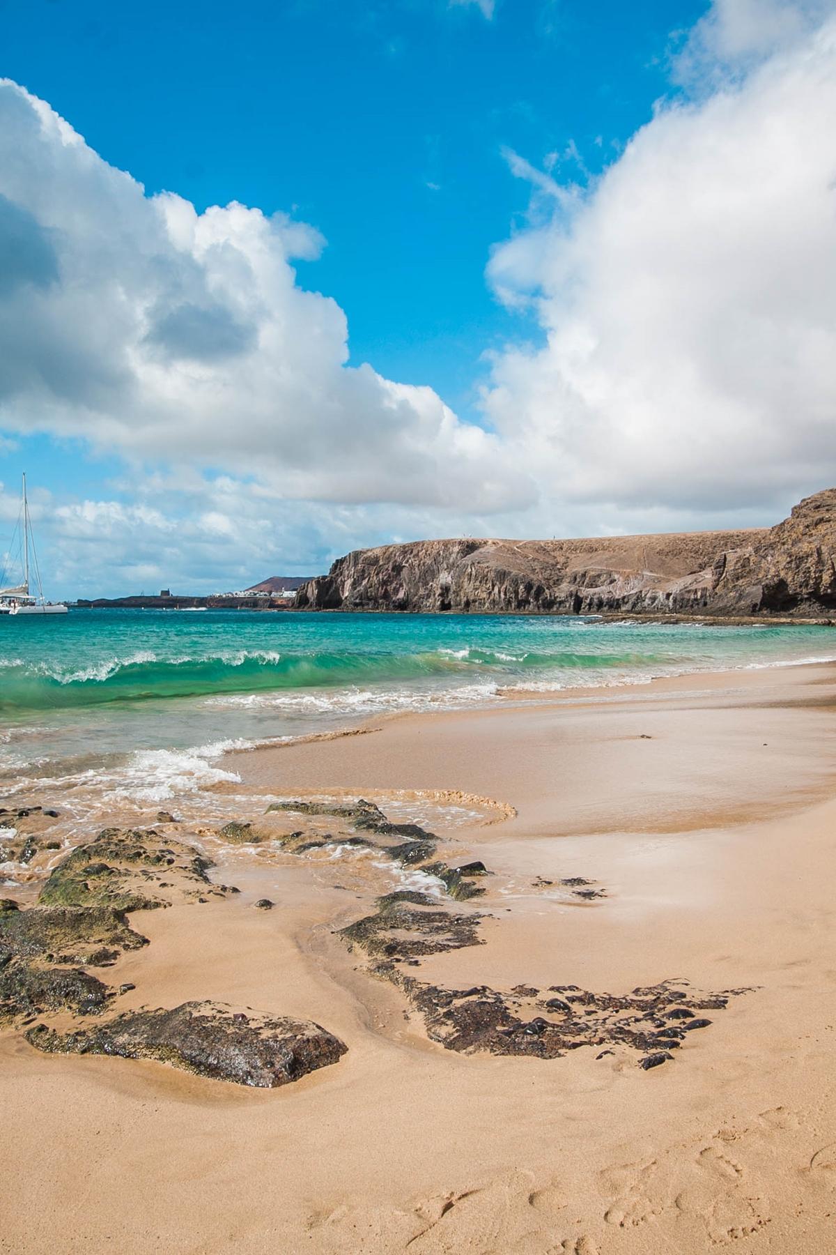 plaża lanzarote