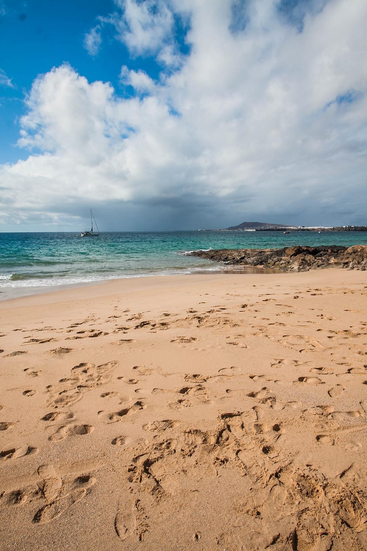 playa del pozo plaża lanzarote