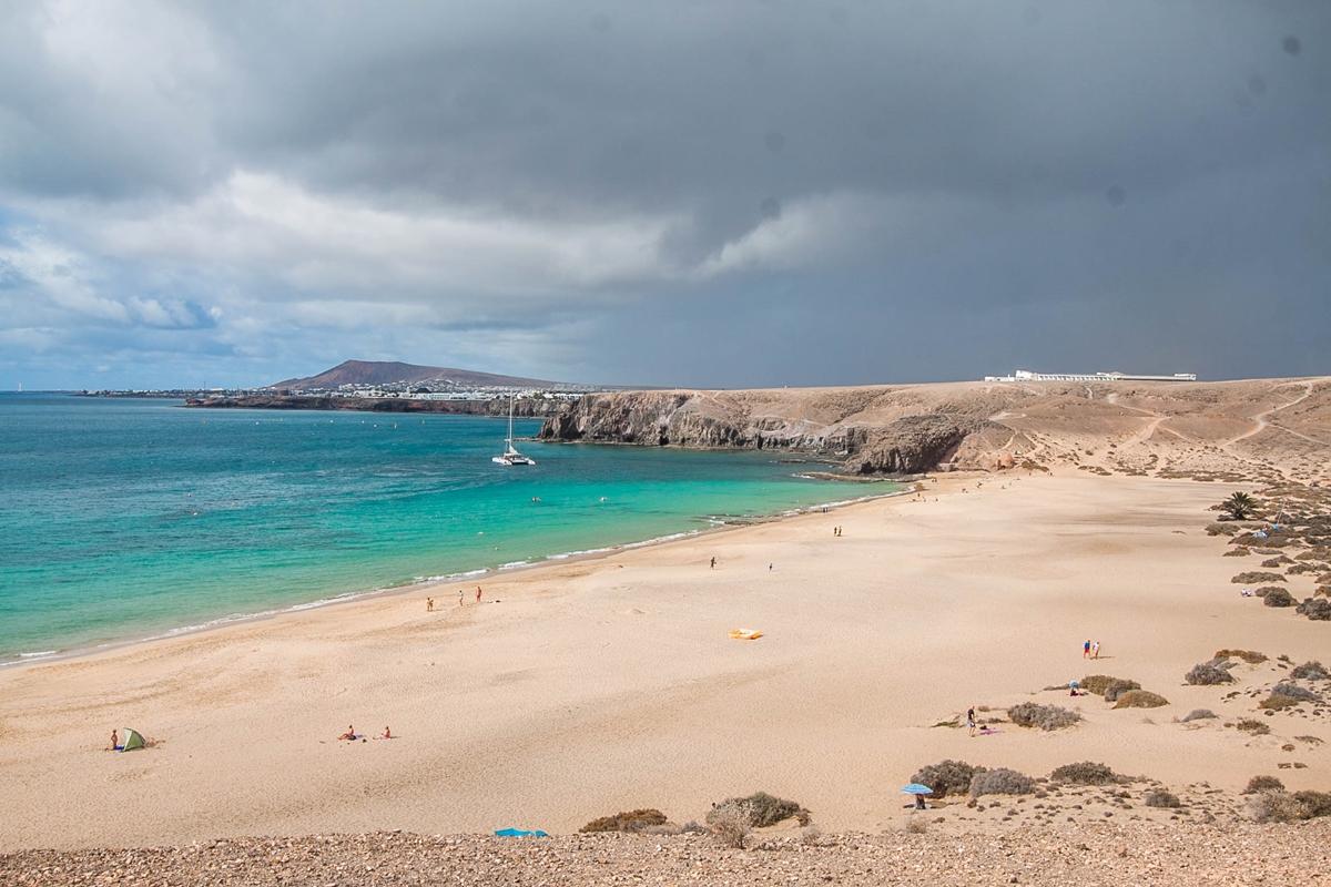 plaże na lanzarote wyspy kanaryjskie