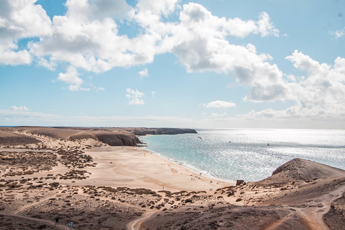 playa mujeres lanzarote plaża
