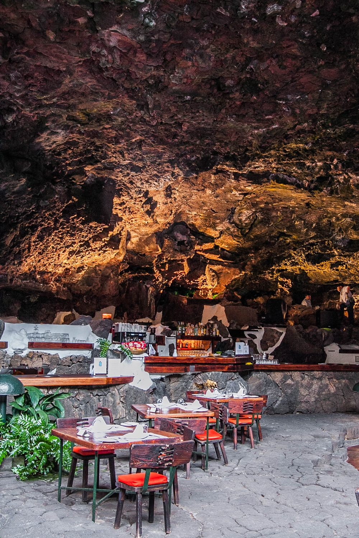 restauracja Jameos del Agua