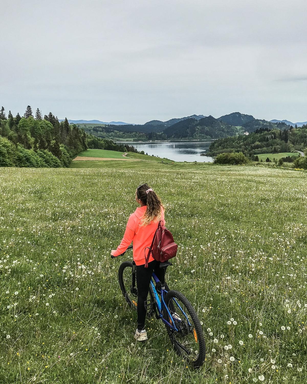 jezioro czorsztyńskie trasa rowerowa