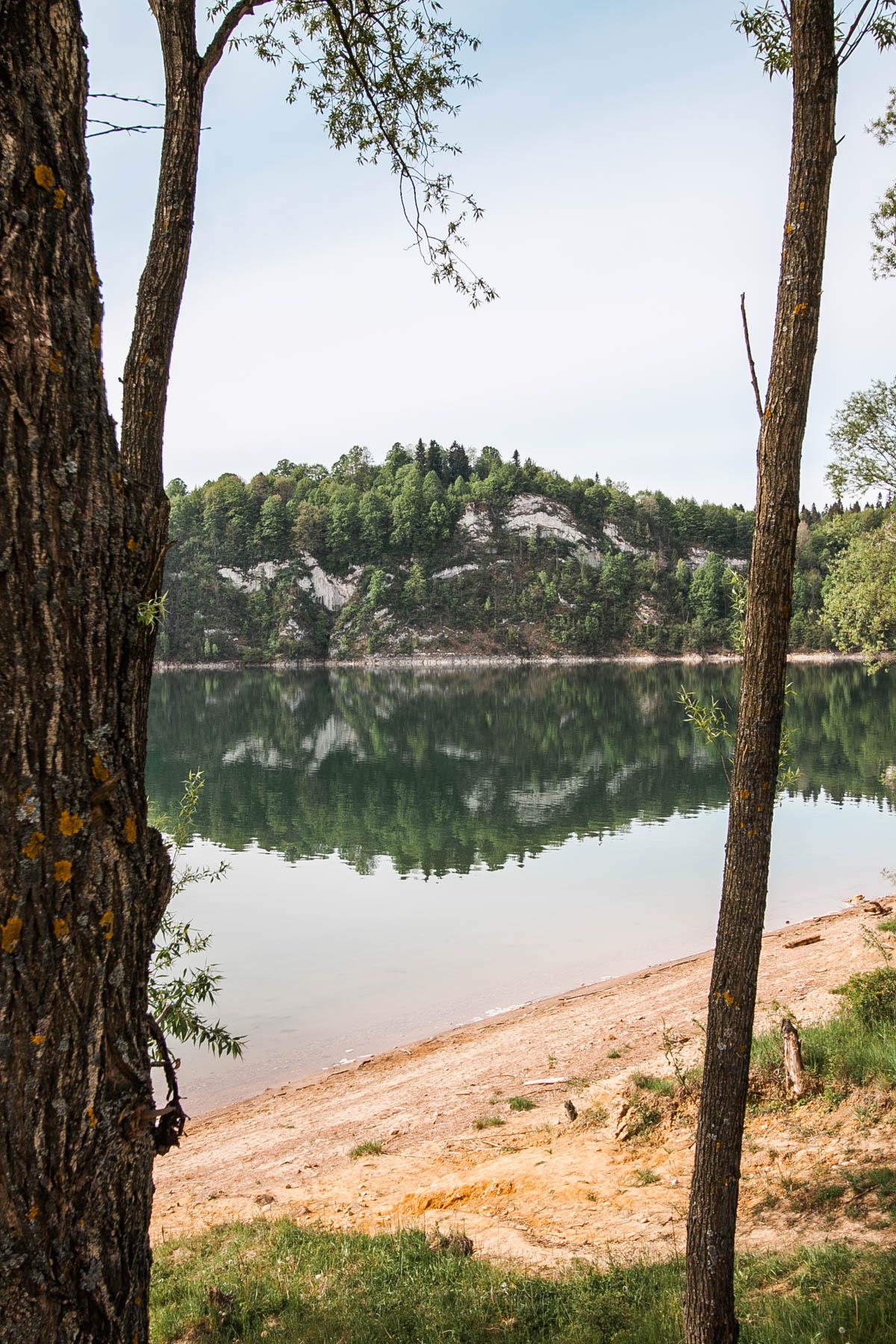 trasa rowerowa jezioro czorsztyńskie