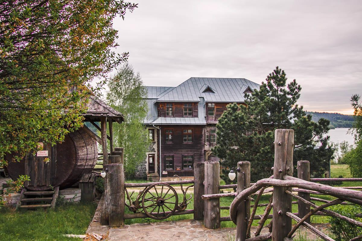 osada czorsztyn atrakcje jeziora czorsztyńskiego
