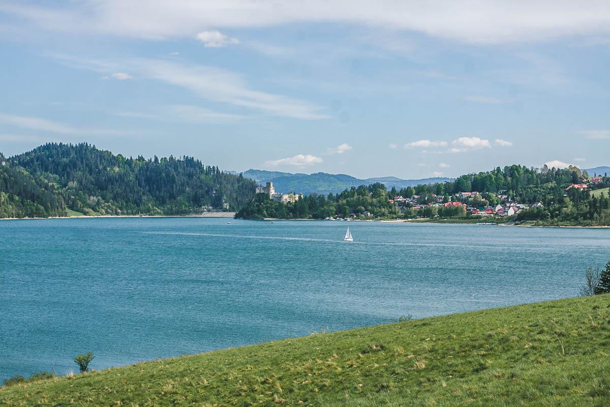 szlak nad jeziorem czorsztyńskim