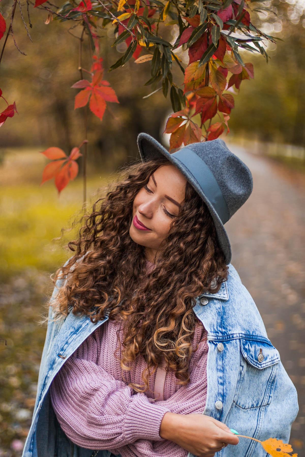 jesienny wełniany kapelusz reserved