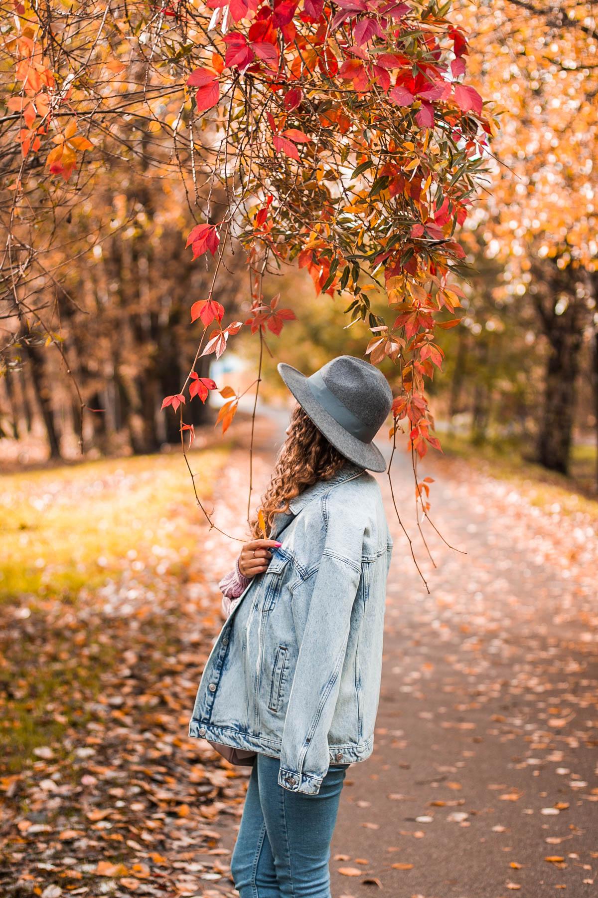 kurtka jesienna jeansowa