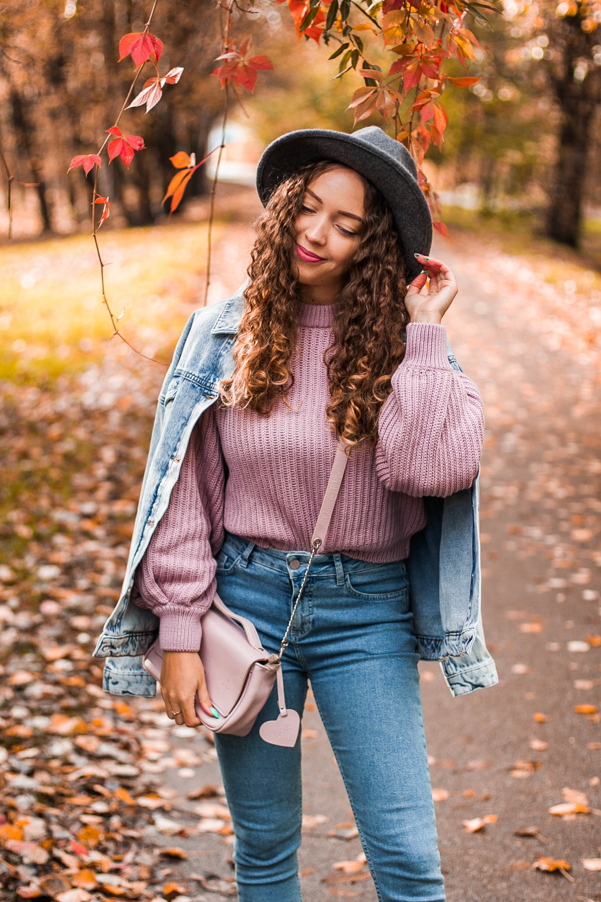 stylizacja jeansowa
