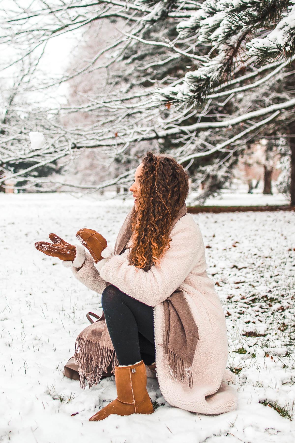 ciepłe buty na zimę emu