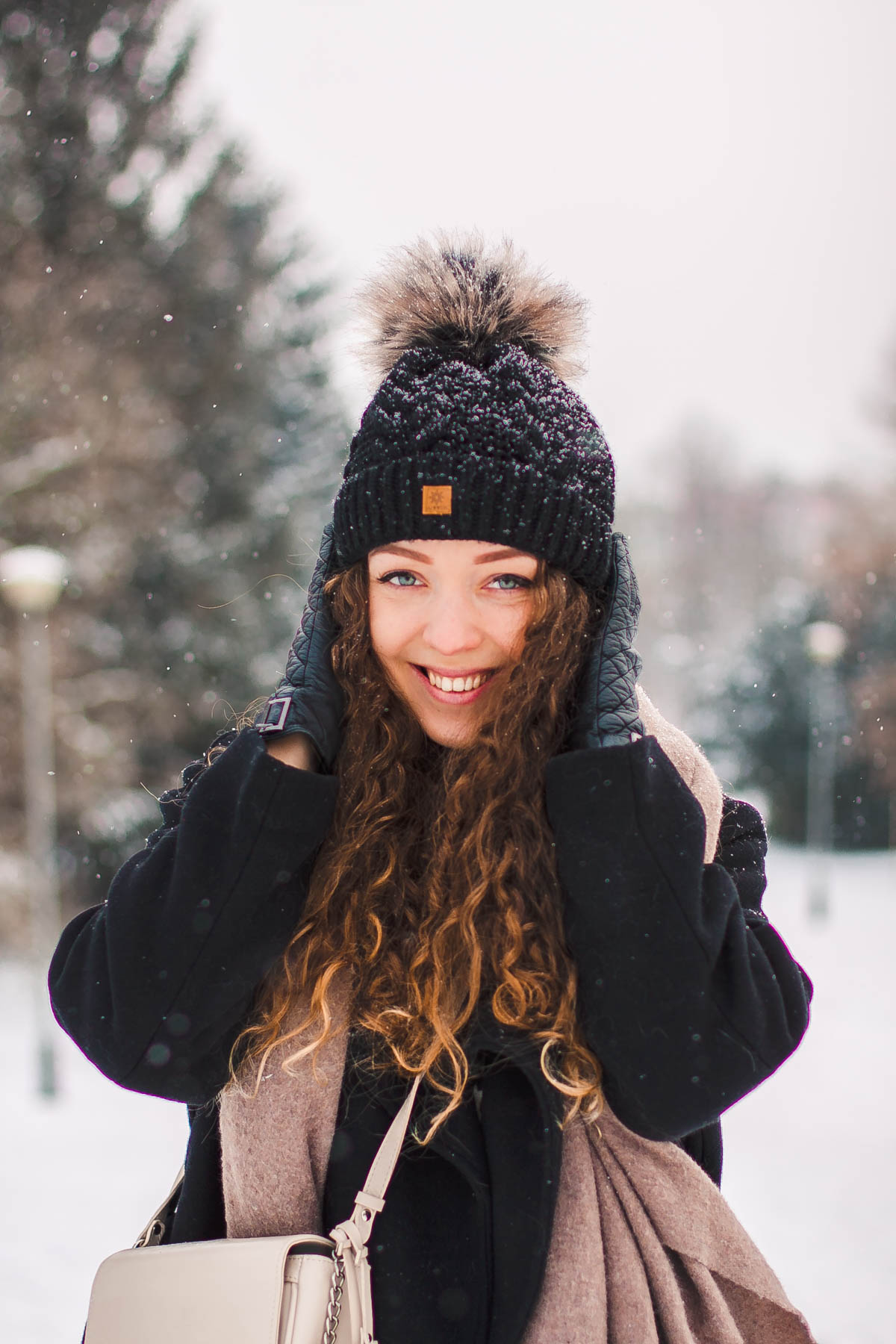 czapka zimowa woolk