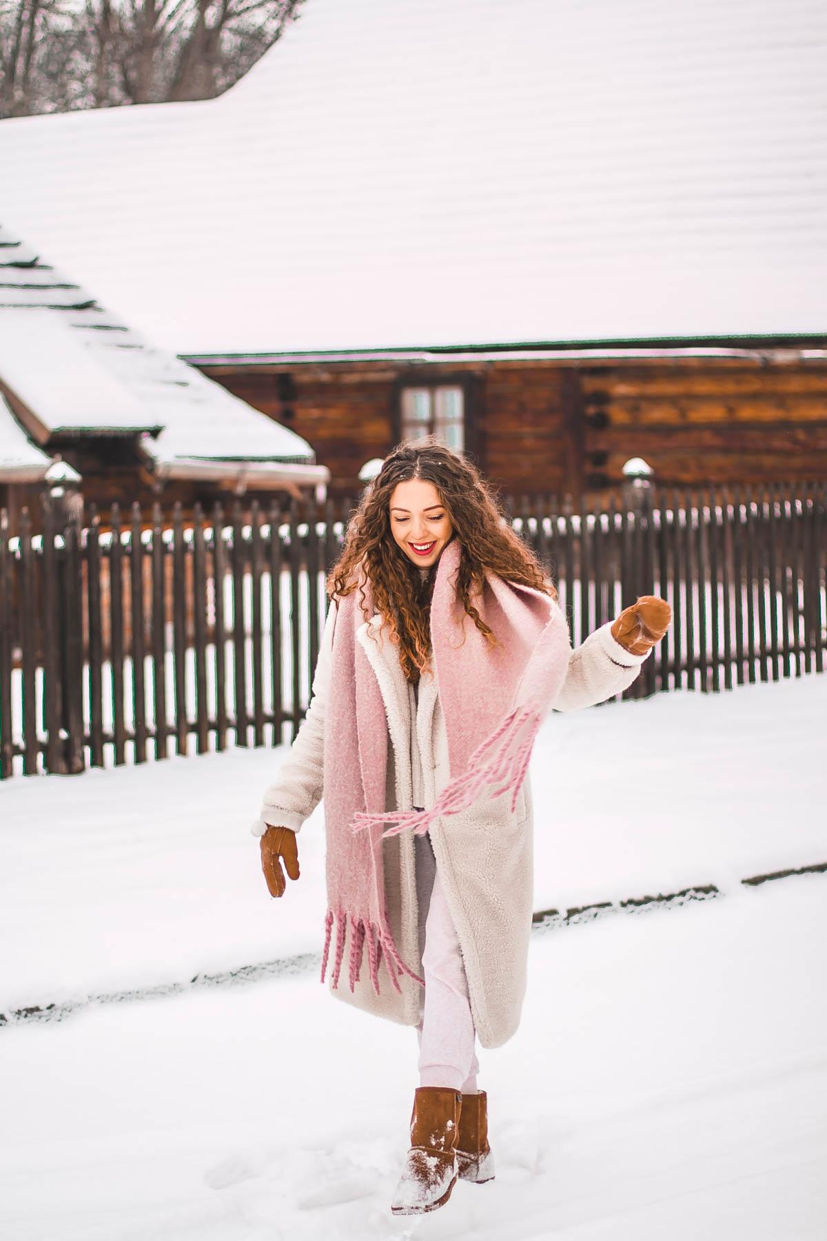 najwygodniejsza zimowa stylizacja