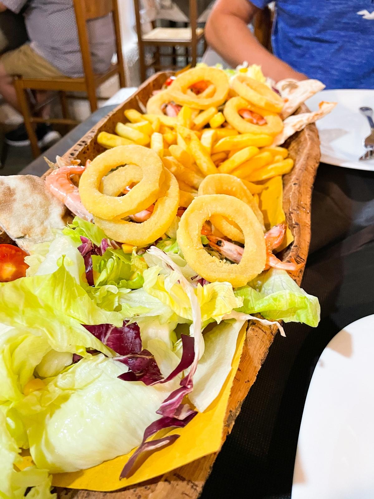 ichnos express restauracja w alghero