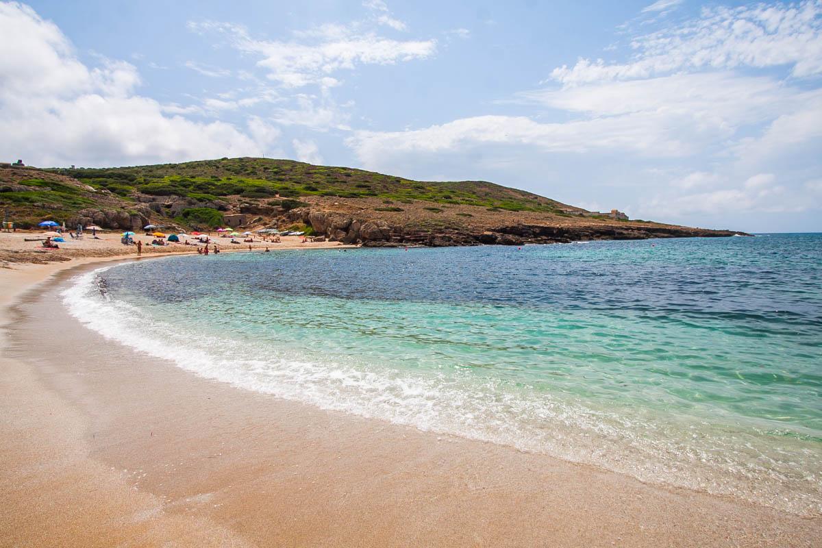 plaża porto palmas na sardynii